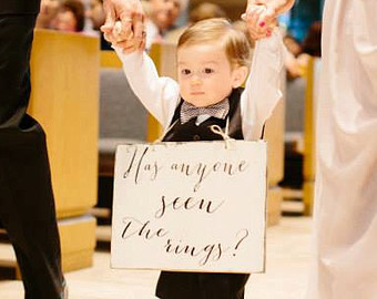 The Ring Bearer History and Suggestions Reverend Frank McFadden